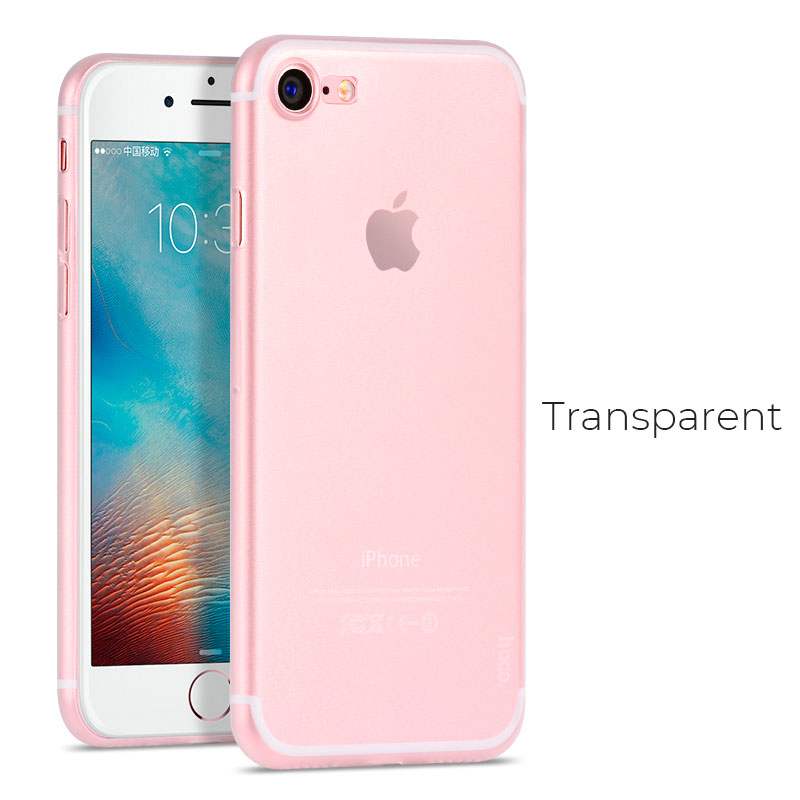 Ultra thin series iPhone 7 / 8 / Plus phone case back cover - Transparent
